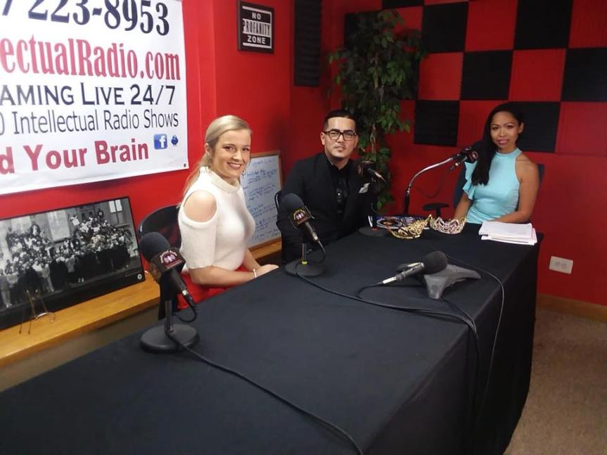 Miss Southern Wisconsin 2019 – Catherine Smiths co host Women Everywhere Radio Show at IntellectualRadio